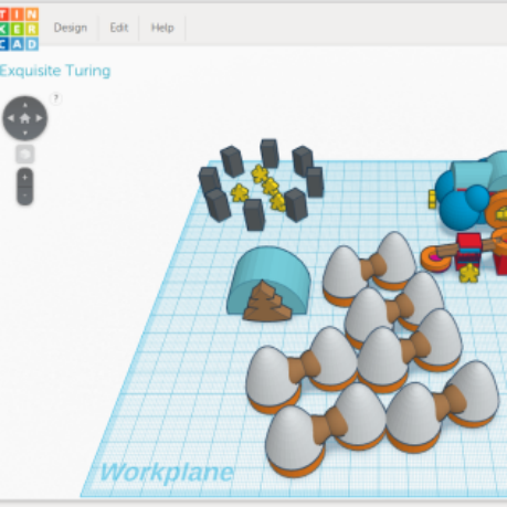 image of TinkerCAD creation